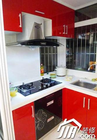 50平米装修厨房效果图,50平米装修厨房案例,5