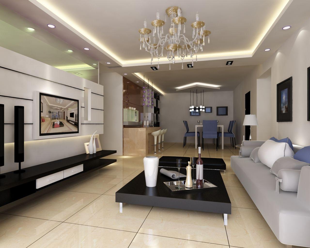 现代简约风格的卧室 ,呈龙装饰设计的装修案例