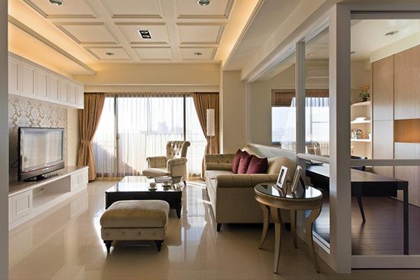 客厅 130平米装修 效果图,客厅 130平米装修 案例