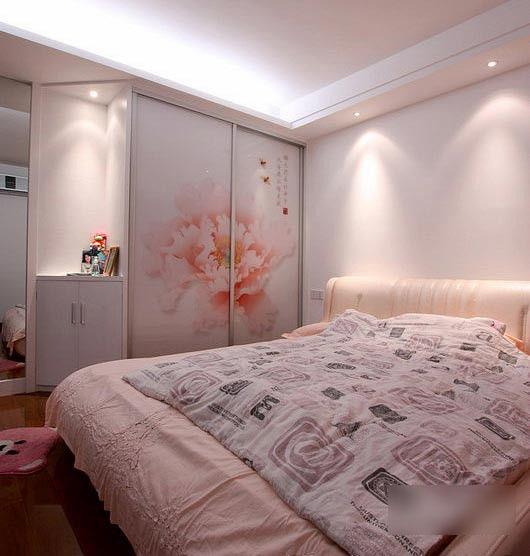 卧室90平米装修效果图,卧室90平米装修案例,卧